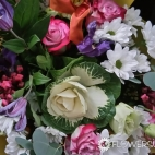 Send-bouquet-to-Moscow,-Russia