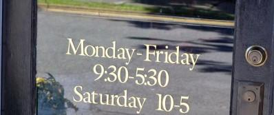 Рабочие часы цветочных салонов с США