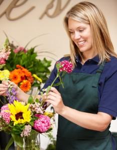 Цветочный салон в США