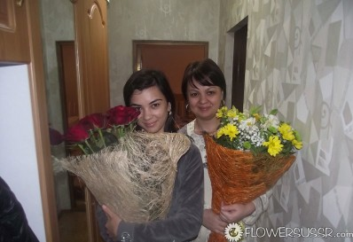 Your Russian Woman Flowers 15