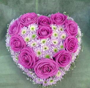Order flower heart to Russia