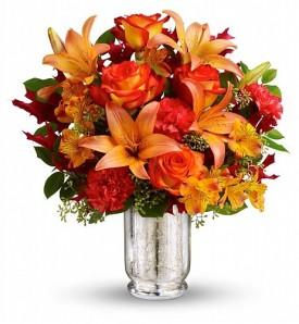 Заказать букет цветов ко Дню Благодарения