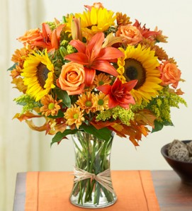 Order Thanksgiving bouquet