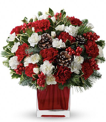 Christmas bouquet. Букет к Новому Году