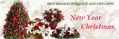Заказать новогодний и рождественский букет