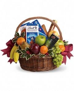 Holiday Abundance gift basket. Подарочная корзина Праздничное изобилие.