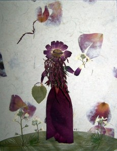 Pressed flowers picture