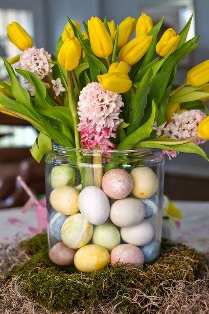 Easter flowers arrangements