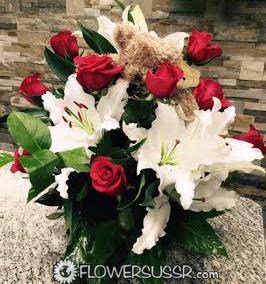 Заказать цветы для бизнес партнёра