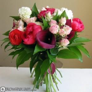 Заказать доставку цветов маме