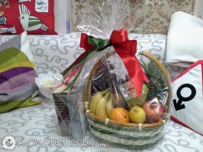 Заказать фруктовую корзину с доставкой в Майями