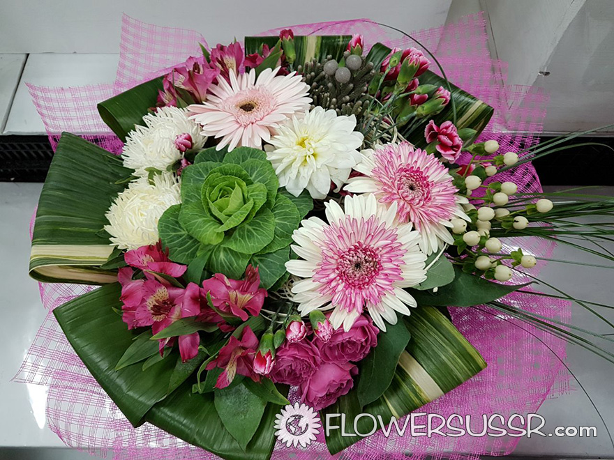 Flowers Delivery to Spain, England, France, Australia